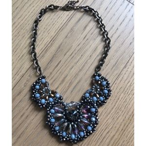 Multicolored beaded bronze necklace AKIRA